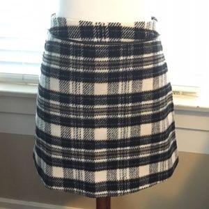 ABERCROMBIE & FITCH Plaid Mini Skirt